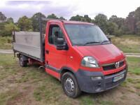 Vauxhall Movano 2.5 CDTI 2009 Flatbed With Taillift ( Same As Renault Master )