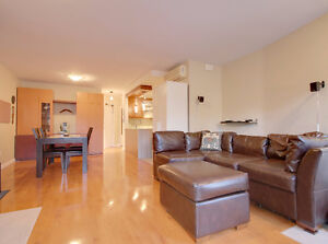 Condo on two floors 1 bedroom up and 2 down + 2 bathrooms West Island Greater Montréal image 5