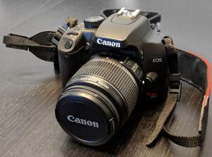 Canon Digital Rebel XS DSLR Camera Kit + LowePro Bag + Cloth