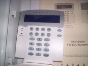 NEW PARADOX Security Alarm System and Keypad REDUCED