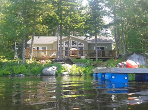 Beautiful cottage on Sherbrooke Lake