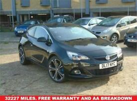 image for 2017 17 VAUXHALL ASTRA 1.4 GTC LIMITED EDITION S/S 3D 138 BHP