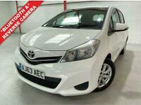 2014 Toyota Yaris 1.3 VVT-I ICON 5d 99 BHP Hatchback Petrol Manual