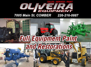 Full Equipment Paint and Restoration Services