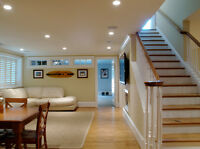 Complete Home renovation with Plumbing & Electrical