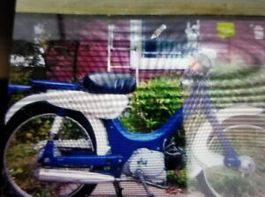 Stolen 1973 peddle/motorized from Halifax North End.