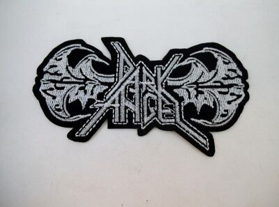 (Dark Angel Iron On Embroidered Patch Speed Thrash Black Heavy Metal GOTH Punk )