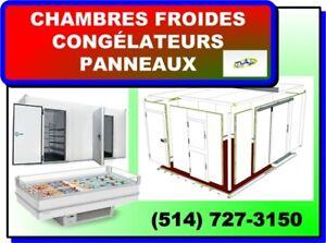 CHAMBRES FROIDES, CONGELATEURS, PANNEAUX et Plus !!!