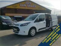 2016 16 FORD TRANSIT CONNECT 230 TREND COMBI CREW VAN L.W.B NO V.AT TO PAY