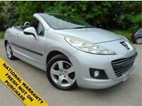 2010 Peugeot 207 1.6 CC SPORT 2d 120 BHP Convertible Petrol Manual