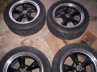 "Set of 4 Shelby 17"" Rims"
