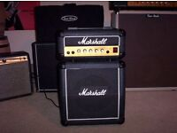 Rare 1980's marshall lead 12 mini half stack