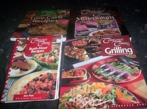 """Company""""s Coming Grilling,Low Carb recipes,Millennium,Rush Hour"""
