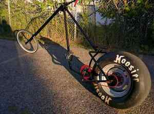 OFFER/BARTER: CUSTOM CHOPPER 13.FT WELDED BICYCLE Kitchener / Waterloo Kitchener Area image 1