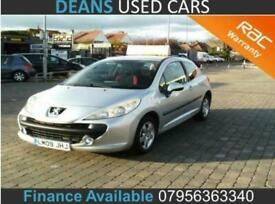 2009 Peugeot 207 1.4 Verve Hatchback Petrol Manual
