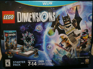 Lego Dimensions Starter Pack for Wii U - Brand New with Batman
