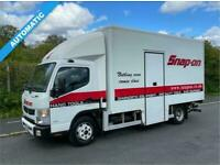 2012 62 MITSUBISHI FUSO CANTER 3.0 7C18 38 173 BHP AUTO 7.5T SNAP ON BOX MOBILE
