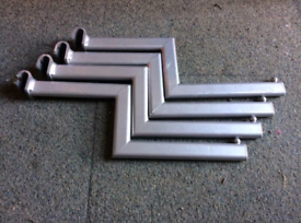 Retail Shop Fittings Zig Zag Arms for D Bars or Back Bars
