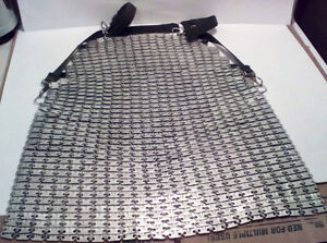 Super Lamex Armour Plated Chainmail Butchers Apron.