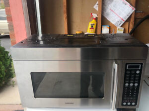 Samsung Stainless Steel Microwave For Sale