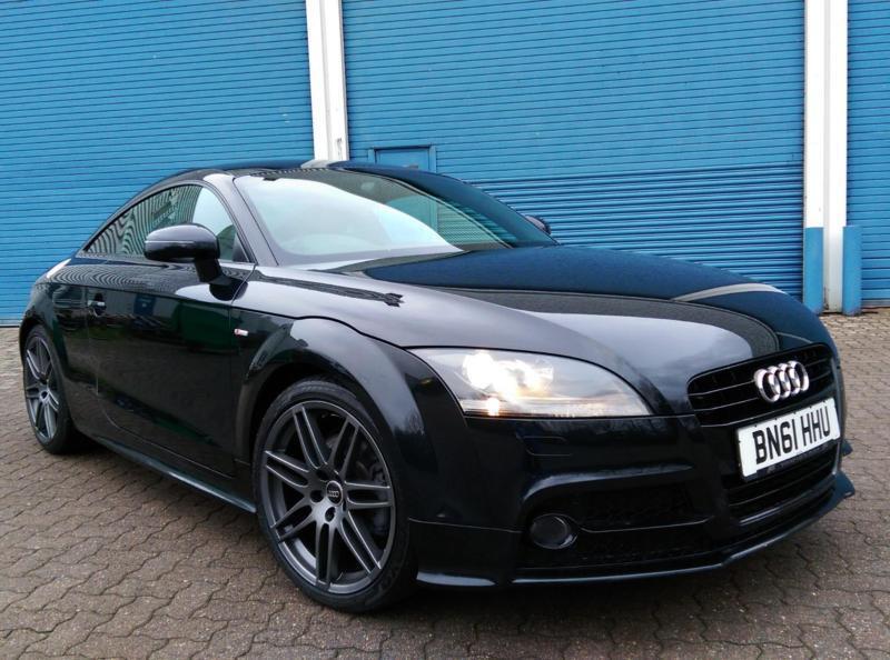 12 Audi TT 2.0TDI 170 Quattro S Line Black Edition Spec 22k Mls Nav 1 Owner