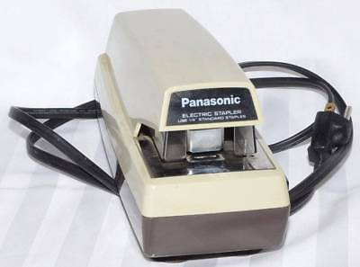 Panasonic As300 Electric Stapler Vintage Tested Works Made In Japan