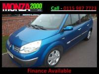 RENAULT GRAND SCENIC 1.6 VVT DYNAMIQUE NIL DEPOSIT FINANCE 3 MONTH WARRANTY