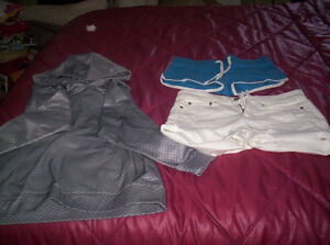 designers shorts and hoodie