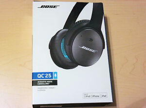 Bose QC25 headphones New