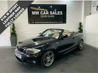 2013 BMW 1 Series 2.0 118D SPORT PLUS EDITION 2d 141 BHP Convertible Diesel Manu