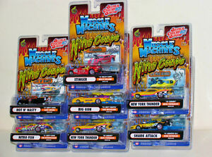 Muscle Machines Super Chevy Show 1:64 Diecasts, Set of 7