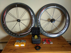 Bontrager Aeolus Carbon Wheelset w Wireless SL 2.4 PowerTap Hub