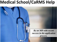 Ace your Medical School/CaRMS Application!