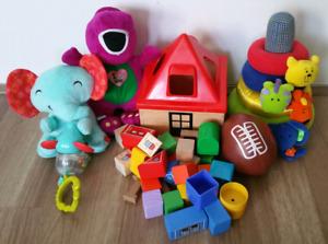 Lots de jouets - 12$ch ou 2 pour 20$