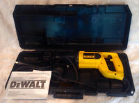 DEWALT DW304P VS RECIPRICATING SAW