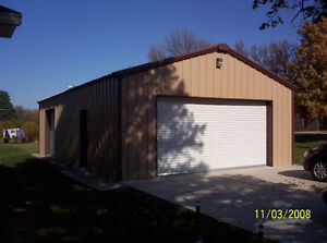 STEEL BUILDINGS & FOUNDATIONS COMPLETE D.I.Y PACKAGES Sarnia Sarnia Area image 5