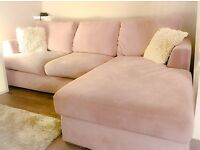 Mauve lounger suite from DFS...1 year old