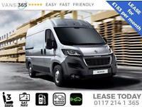 Peugeot Boxer LEASE DEAL SAT NAV AIR CON 335 L3 H2 Professional (LWB)130ps £