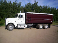 2004 Freightliner Classic (Auto shift) w/new CBI grain box