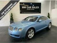 2004 Bentley Continental 6.0 GT 2d 550 BHP Coupe Petrol Automatic