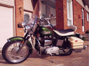 1970 - 47 years old - HARLEY DAVIDSON Sportster ONE OWNER