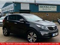 2013 Kia Sportage 1.7 CRDI 3 SAT NAV PHANTOM BLACK 114 BHP Estate Diesel Manual