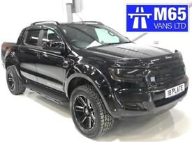2018 NEW FORD RANGER WIDEBODY RAPTOR WILDTRAK AUTOMATIC 3.2 ALL BLACK