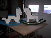 Hand Built Rocking Horses/Ogopogos