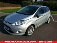 2011 11 FORD FIESTA 1.4 TITANIUM 5 Dr AUTOMATIC SILVER 21600 MILES 2 OWNERS