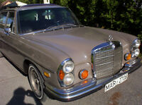 The magnificient early 280 SEL serie 1968-1972 innovations and s
