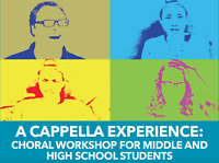 UNB A Cappella Experience: Middle and High School Students