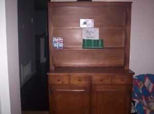 chair and Buffet Hutch for sale
