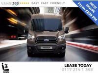 Ford Transit LEASE TREND FORD TRANSIT L3 H3 LWB H/R 130ps SWB £209+VA