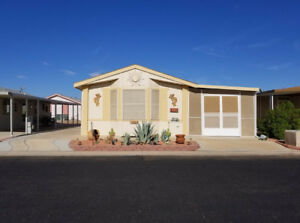 SUNNY Yuma Winter Home in Great 55Plus 2 Bed, 2 Bath, Add - T83